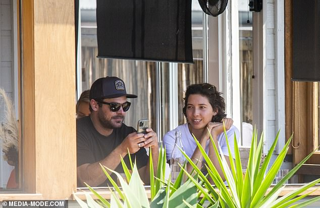 EXCLUSIVE: Zac Efron and his new girlfriend Vanessa Valladares are concerned about their future together due to COVID-19 restrictions and Zac's work commitments in Hollywood. Pictured together in Lennox Head, NSW, on September 5