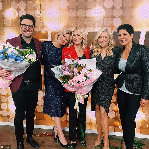 'You literally saved me':Kerri-Anne Kennerley bid a final farewell to Studio 10 on Friday, after she was ruthlessly axed from the show last month