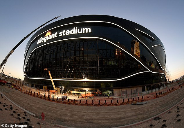 The brand new Allegiant Stadium in Las Vegas is now home to the Raiders NFL franchise