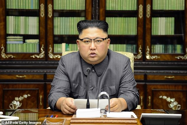 North Korean leader Kim Jong-Un has mobilised pensioners and children to work in mines in order to build the Pyongyang General Hospital