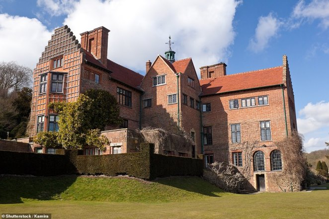 Chartwell, the house of Churchill, in Kent, pictured from the outside. The trust raised £7.1m for the project through donations from charities such asthe National Lottery Heritage Fund, the Royal Oak Foundation and the Linbury Trust