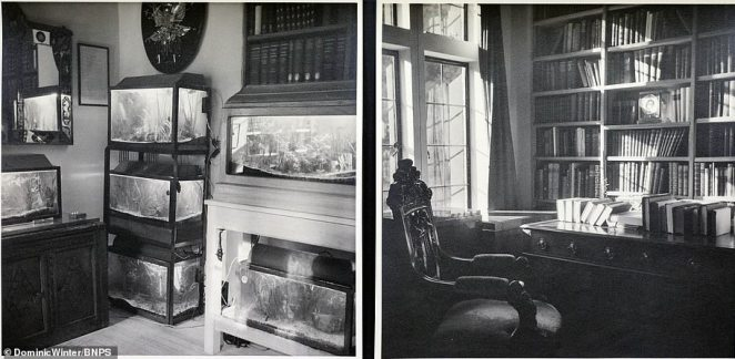 Inside Churchill's Chartwell residence, which he bought in 1922 for £5,000 and then spent another £20,000 on it