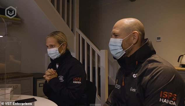Zara and Mike Tindall both trialled a new rapid 10-minute Covid-19 test and digital health passport