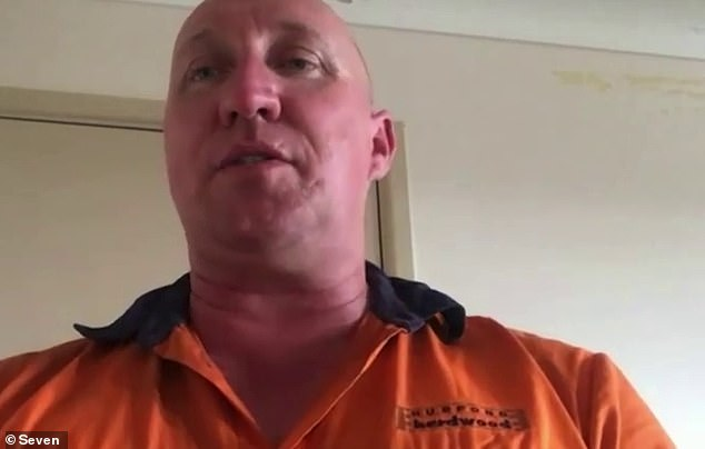 Brad Jones is begging Queensland Premier Annastacia Palaszczuk to loosen the restrictions so he can be by his daughter's side