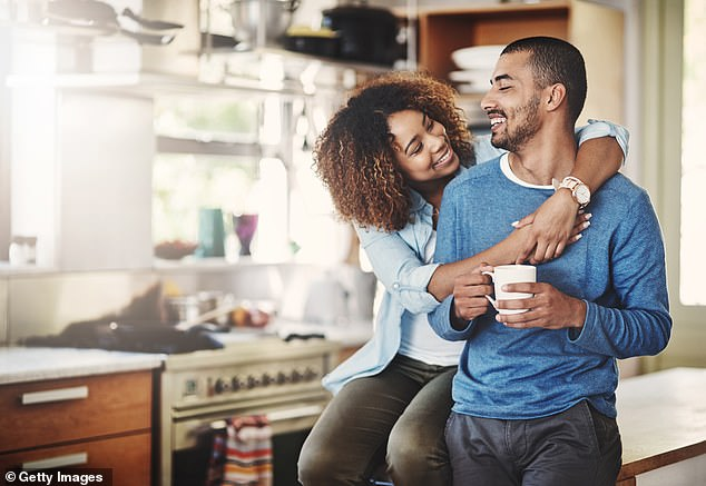 Those who were happy in their relationship fared best out of all groups, showing a higher general level of mental health wellbeing than singles or unhappy couples. Stock image