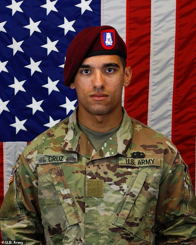 Fort Bragg has identified the paratrooper who was killed in a training accident on Wesnesday as Pfc Jean Cruz De Leon