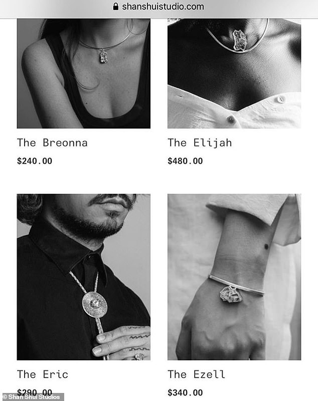 The Gibbes Museum of Art in Charleston, South Carolina, said it would no long er sell jewelry pieces featured in the 'Wear Their Names' collection