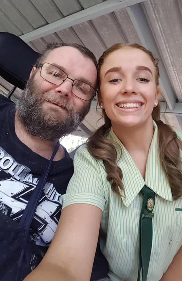 Wayne Turner (pictured withdaughter Reanna) died after suffering several strokes