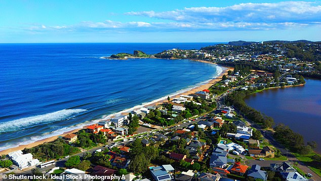 Wamberal on the Central Coast was identified as the most in-demand suburb with homebuyers - despite being more than 80 kilometres north of Sydney