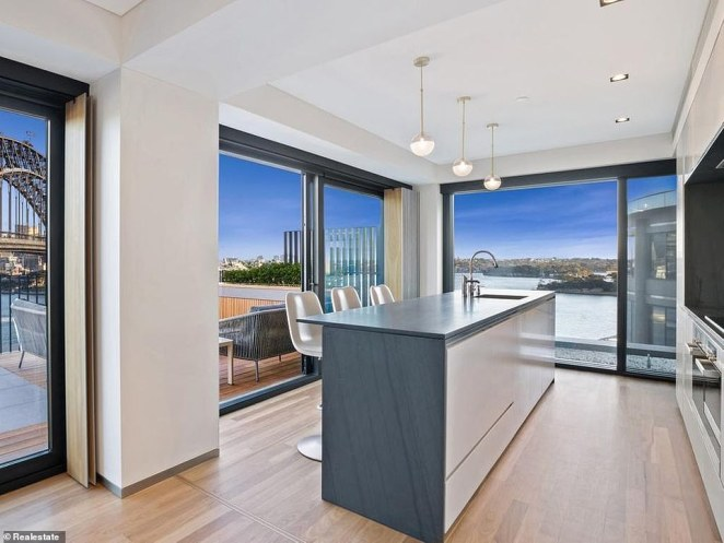 The home also includes a hidden pantry and island kitchen bench making it the envy of every entertainer
