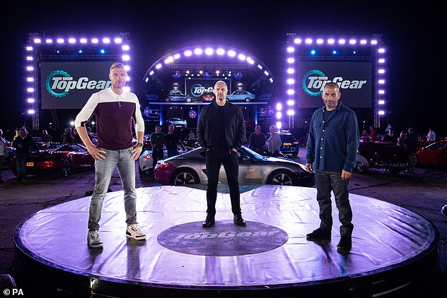 Wow:In September, shots from the set of Top Gear showed the impressive-looking new format, amid social distancing regulations due to COVID-19