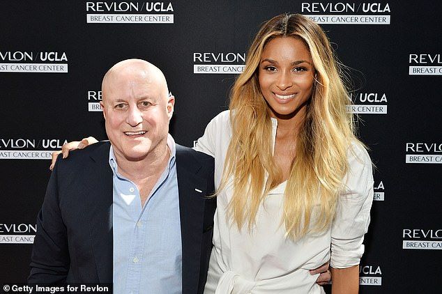 Perelman, pictured with singer Ciara (right), said in a Vanity Fair statement that he is downsizing to focus on a simpler way of life