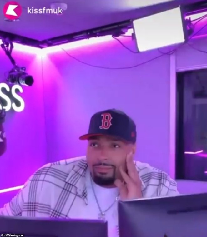 Upsetting:The new figures come after dancer and brother of Ashley Banjo, Jordan, 27, got teary as he discussed the 'horrible' messages the group have received on his KISS radio show on Wednesday