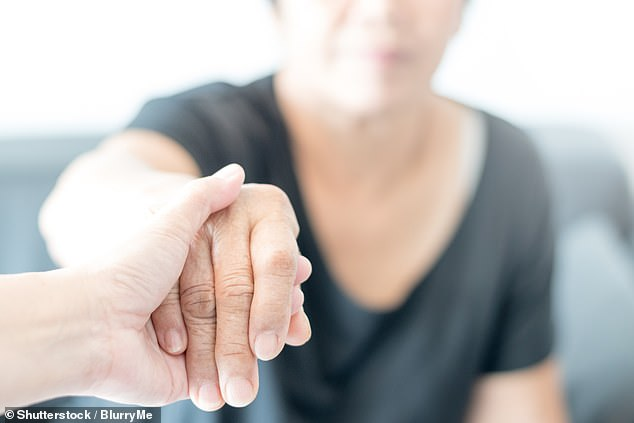 The Department for Health and Social Care claims ¿our first priority is to prevent infections¿ and that ¿visiting policies should be tailored by the individual care home¿ (file photo)