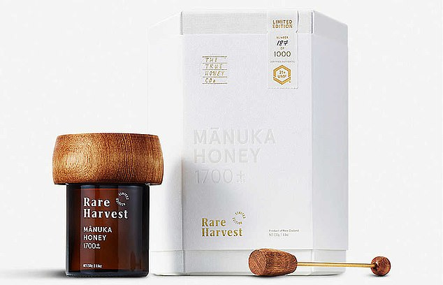 The True Honey Company¿s Rare Harvest New Zealand Manuka Honey, which is listed as£1,349 on the Selfridges website.But what can possibly justify such sky-high prices?