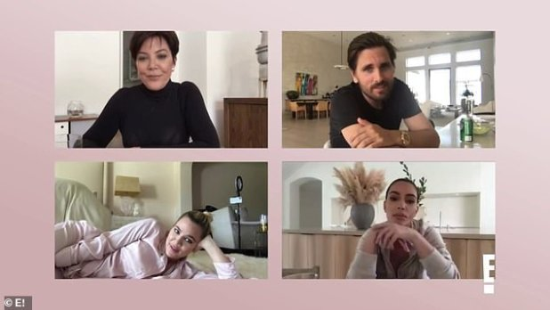 Life Under Lockdown: But first, fans can catch little more than Calabas socialites in the 19th season of Keeping Up with the Kardashians, which premieres next Thursday on E!