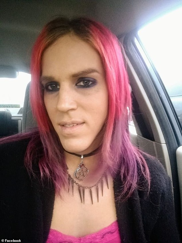 Aria DiMezzo, a transgender woman who describes herself as an anarchist and a high priestess of the Reformed Satanic Church, won the Republican nomination for sheriff of Cheshire County, New Hampshire, on Tuesday