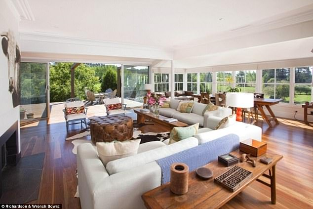 Pricey:The TV star made a significant profit after purchasing the home for $2.2 million in 2017