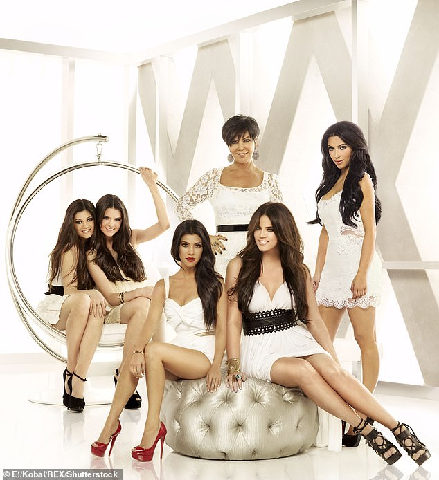 The end: The line was announced following news that Keeping Up With The Kardashians will end in 2021, after Kim and Kylie Jenner wanted to drop out, according to Page Six; shown in 2007