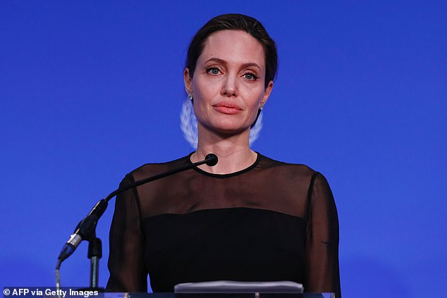 A string of actresses made harassment claims against Weinstein, including Ashley Judd, Angelina Jolie (pictured), Gwyneth Paltrow and Léa Seydoux