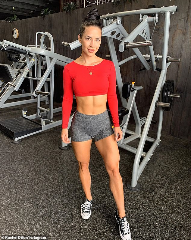 like following the 80/20 approach when I'm planning my meals. 80 per cent of what I eat is wholefoods, and 20 per cent is soul foods,' Rachel (pictured) said