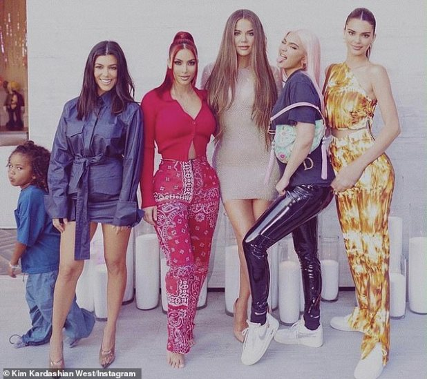 End of an era: Kardashian and Jenner's interview came two days after the family officially announced that their E!  The reality series will conclude in the 20th season, premiered 'early next year' (Figure 16 July)