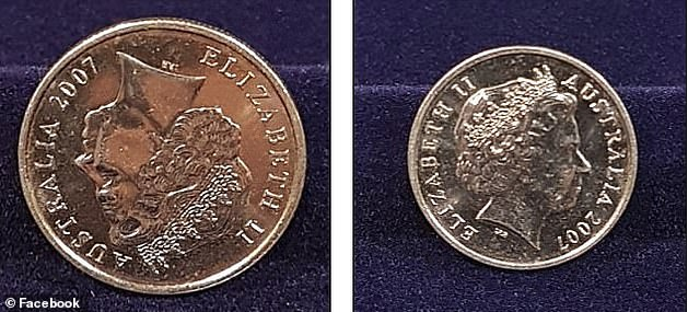 This double-headed 5c piece from 2007 is one of the rarer minting errors. A coin in really good condition can sell for about $3500, while those in poor condition still fetch a few hundred
