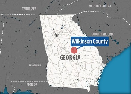 The land is located in an unincorporated part of Wilkinson County, Georgia, some 120 miles southeast of Atlanta