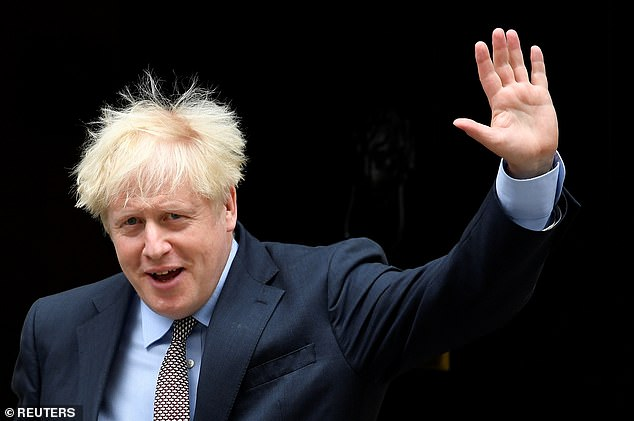 Mr Johnson is planning to override parts of the Withdrawal Agreement struck with the EU last year. The Government has admitted the proposals will break international law