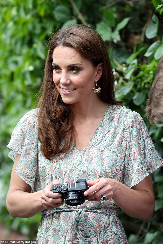 Kate (pictured in June 2019), who is a keen amateur photographer, launched the community contest during lockdown to capture the mood of the nation
