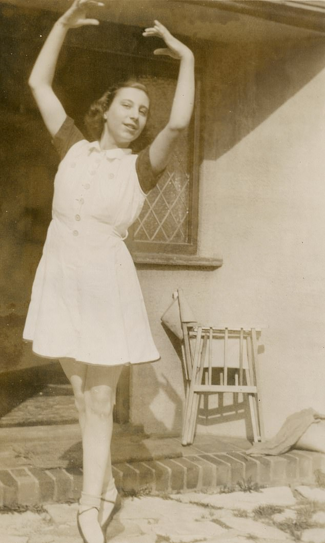 Helga was a talented ballet dancer and enrolled at a boarding school for dance and drama that was evacuated to Boscastle in Cornwall during the war