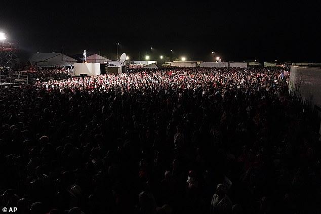 The rally on Saturday drew hundreds of people - violating Nevada's coronavirus restrictions