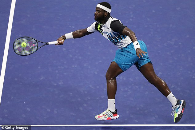 Only one of the United States' men's representatives, Frances Tiafoe, made the fourth round