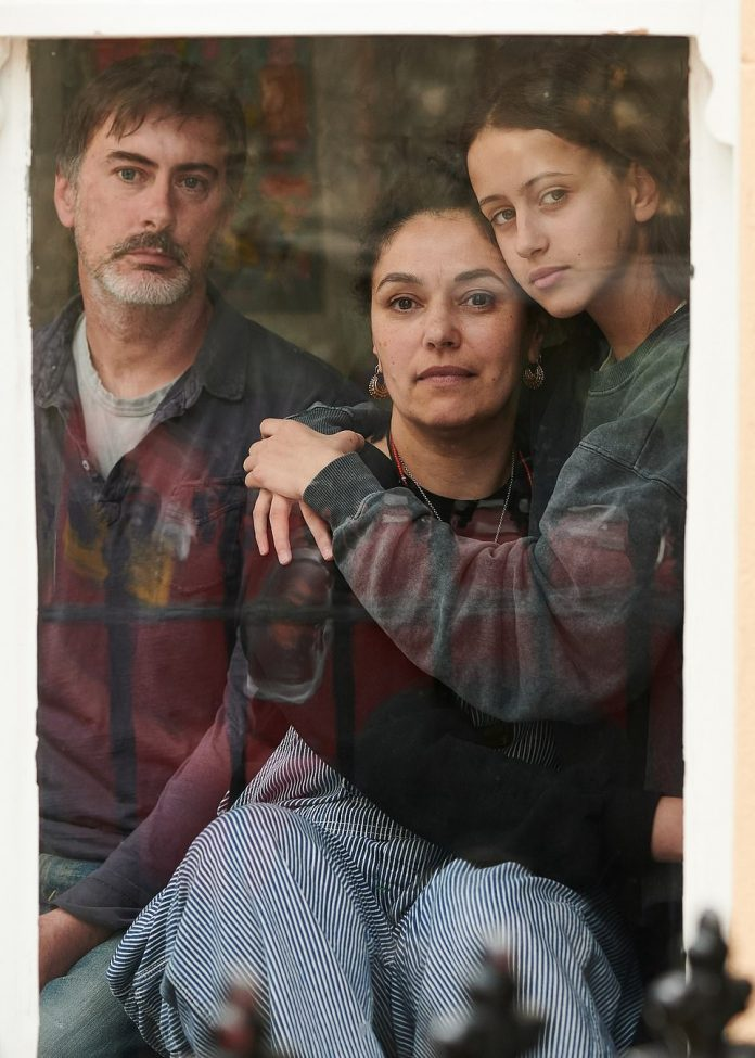 Ruth, David and Scarlet in Lockdown by Sarah Weal.Judges on the panel included England's chief nursing officer Ruth May, director of the National Portrait Gallery Nicholas Cullinan, writer and poet Lemn Sissay and photographer Maryam Wahid