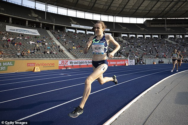 Being able to inspire the next generation is a huge motivation for Laura Muir (above)
