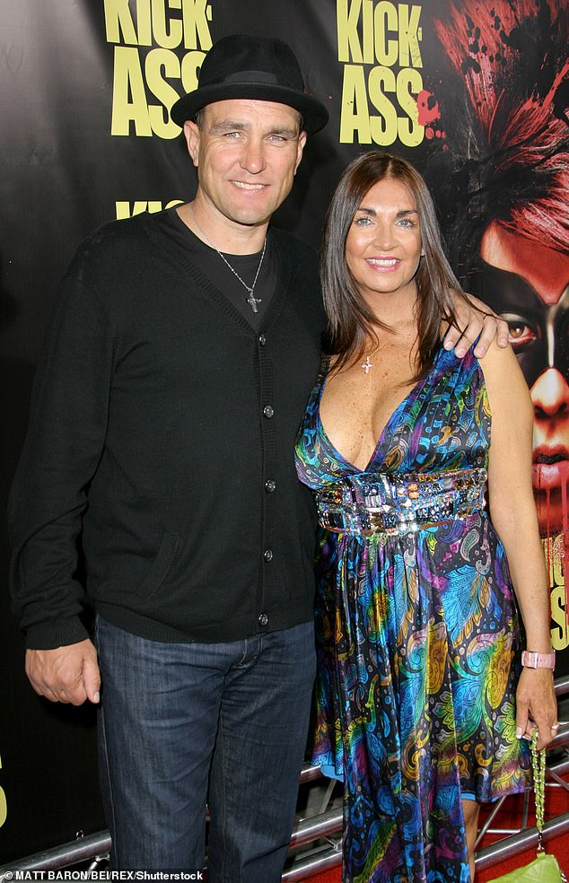 Passing:The actor has been open about his grief after his wife passed away aged 53 at their home in California last year following a six-year battle with cancer (pictured in 2010)