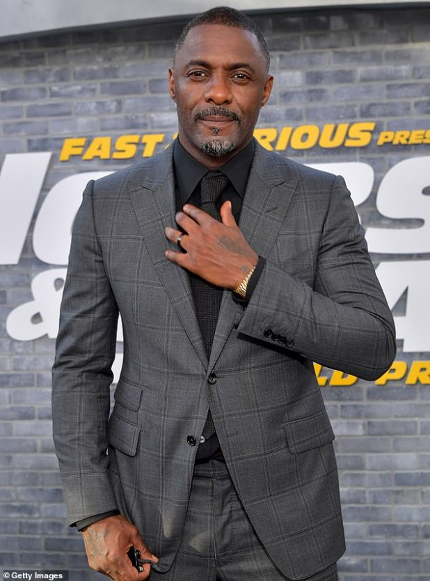 Set the height of Twitter: They got married for the third time in 2019.  And Idris Elba's fans got excited on Sunday when he called himself the 'father of two boys' while promoting his new film.