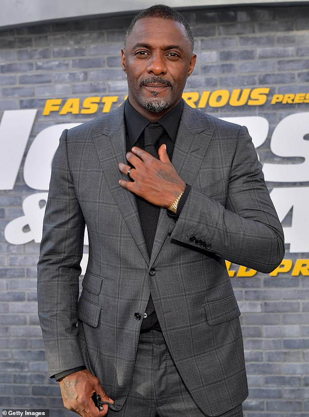 'I'm father to two boys': While promoting his new movie in a virtual appearance at the Toronto International Film Festival Sunday, Idris Elba seemed to suggest he's become a dad again