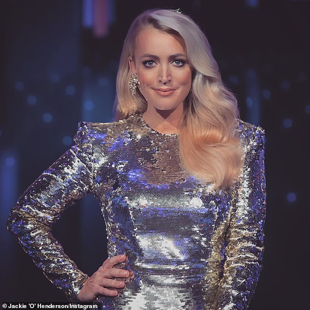Star of the show: The lighthearted segment comes after Jackie was forced to self-isolate in Melbourne for a fortnight after a COVID-19 outbreak on set of The Masked Singer