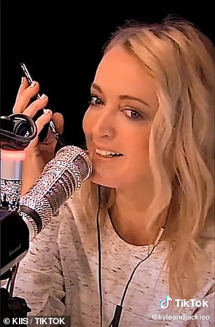 Siri or Google Assistant? Radio hosts Kyle Sandilands and Jackie 'O' Henderson (pictured) put Apple and Google's virtual assistants to the test on Monday