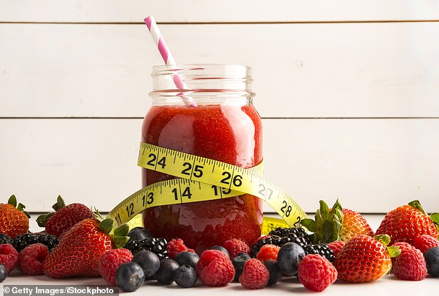 By limiting yourself to eating this amount a day for a short time, you get all the nutrients you need but will see impressive early weight loss