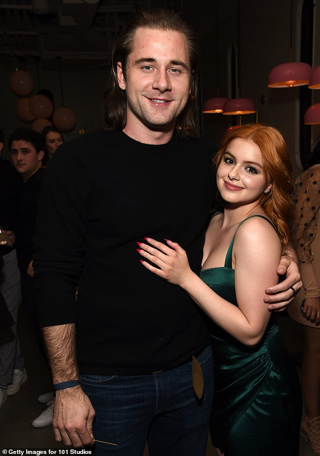 Costar goals: Winterhas since booked a role in the upcoming comedy-thriller Don't Log Off, starring alongsideboyfriend Luke Benward, 25, with whom she's been spending her quarantine (pictured in February, 2020)