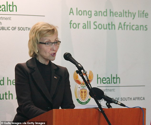 Lana Marks was a fashion designer and is currently the US ambassador to South Africa, her home country