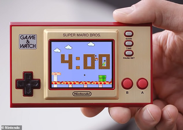 Nintendo is bringing back its classic Game & Watch from 1980 but with a color screen for 2020