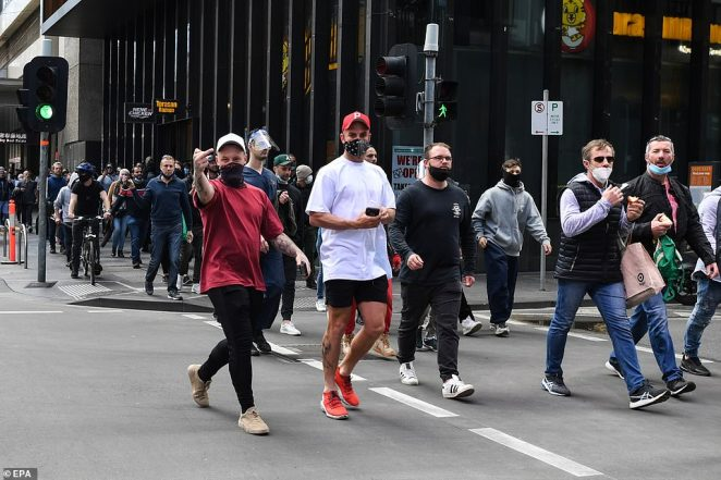 Young women in active wear joined young men in caps and masks, Muslims in hijabs, beard-stroking hipsters and toffs in their Sunday finest