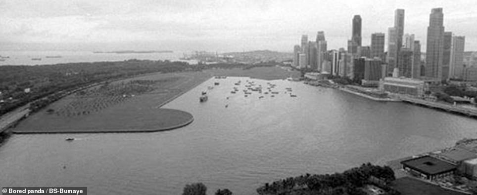 Singapore pictured in 2000