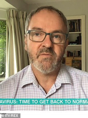 Professor Carl Heneghan, director of the Centre for Evidence-Based Medicine, said the new rules show a 'fundamental misunderstanding,' of the current state of coronavirus Britain