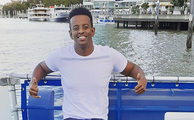 Girum Mekonnen, 19, died following a violent attack in a Zillmere park, in Brisbane's north, on Sunday