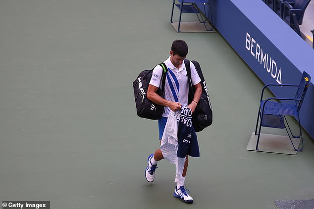 Djokovic was immediately disqualified after the incident and the Serbian accepted this charge