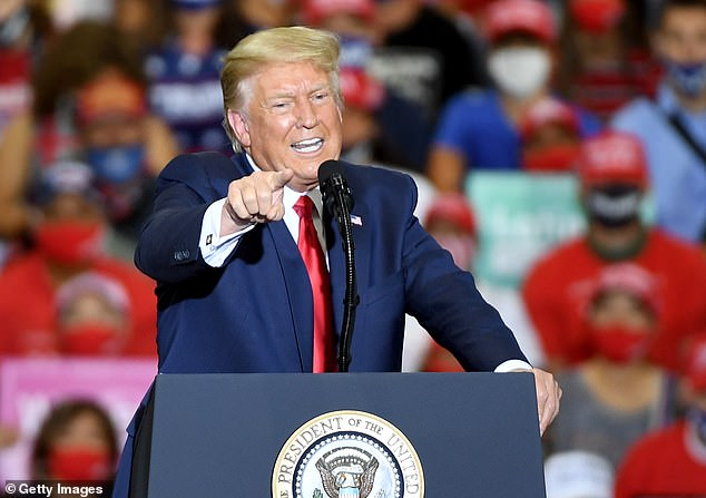 On Sunday night in Nevada, President Donald Trump hosted his first indoor campaign rally since the disastrous Tulsa rally in June